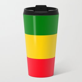 Rastafarian Colors Travel Mug