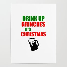 grinchies its Christmas festive Poster