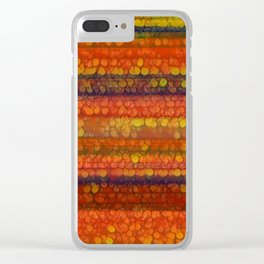 Varied Art 14 Clear iPhone Case