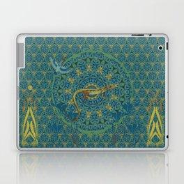 The green lizard Laptop & iPad Skin