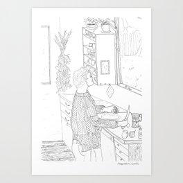 beegarden.works 002 Art Print