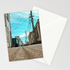 Alley architecture Stationery Cards