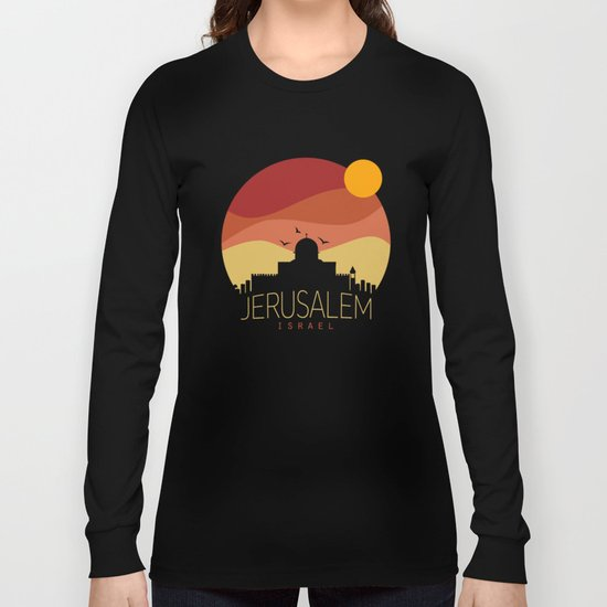 israel  Long Sleeve T-shirt
