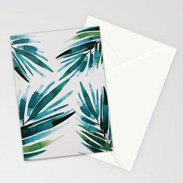 Dark Palm trees Stationery Cards