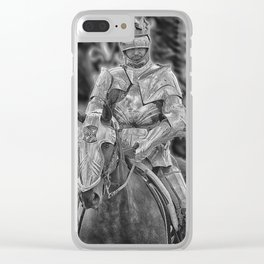 King Richard the Third Clear iPhone Case