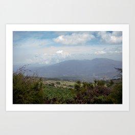 Antigua Trail Art Print