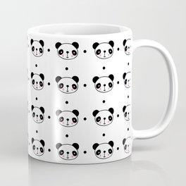 Panda head pattern Coffee Mug