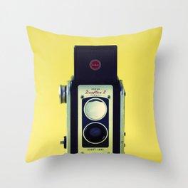 Duaflex II Camera Throw Pillow