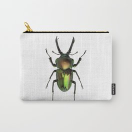 Rainbow Stag Beetle Carry-All Pouch