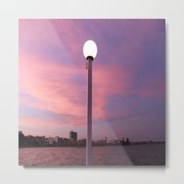 Pastel Skylight Metal Print