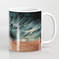 sci fi Mugs featuring Eye Sci-Fi by Bony Fingers