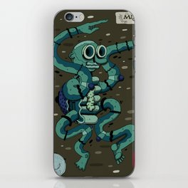 The Cotton Monster iPhone Skin