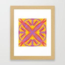 Vintage Tile Pattern 4 Framed Art Print