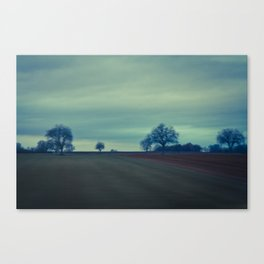 A lot of nothing Canvas Print