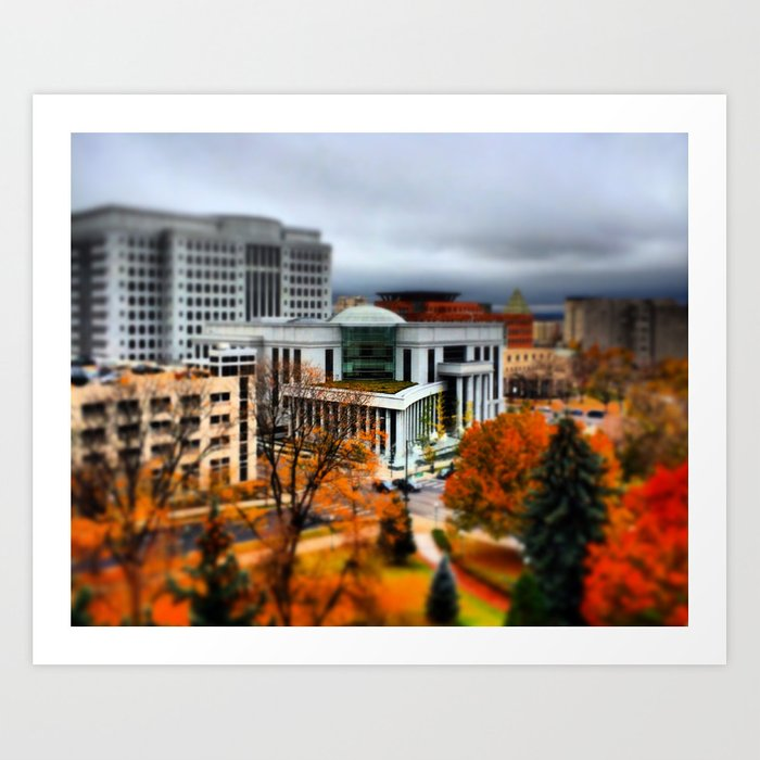 Judicial Center Art Print