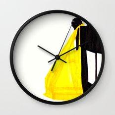 Golden Touch Wall Clock