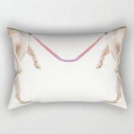 Like two dogs Rectangular Pillow