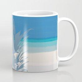 Pineapple Tropical Beach Design Coffee Mug