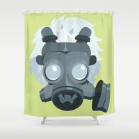 clear Shower Curtains featuring Clear. by Dani Does Art