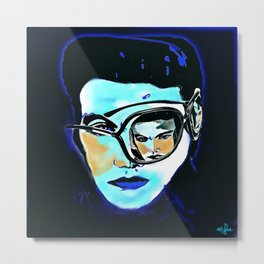The King Incognito Metal Print