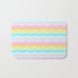 Pastel Stripes Bath Mat