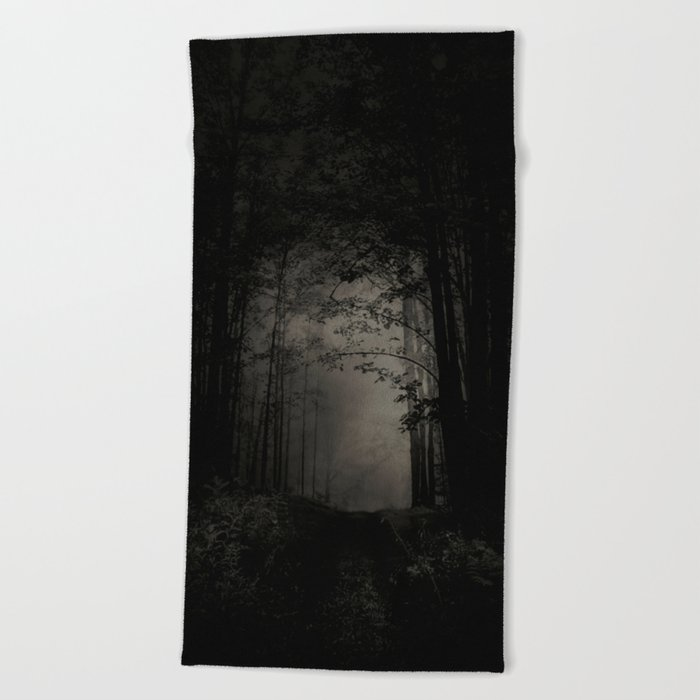 SEARCHING FOR THE LIGHT Beach Towel