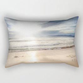 Sunrise Beach Rectangular Pillow