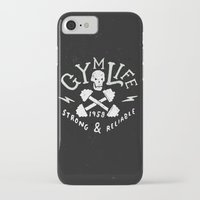 gym iPhone & iPod Cases featuring Gym Life  by Textures