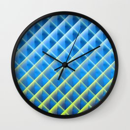 Deep Magic Grid 05 Wall Clock