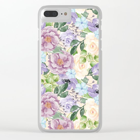 Spring is in the air #26 Clear iPhone Case