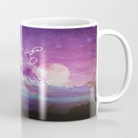 dreamer Mugs featuring DREAMER by Monika Strigel