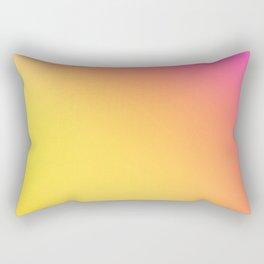 PEACH / Plain Soft Mood Color Blends / iPhone Case Rectangular Pillow