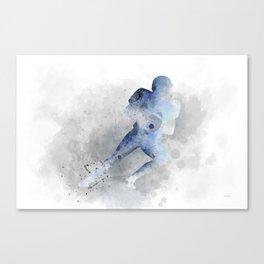 American Footballer 1 Canvas Print