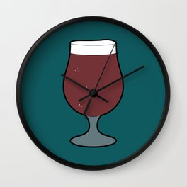 Beer Glass (Tulip) Wall Clock