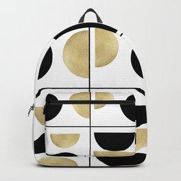 Sun and Moon Geometric #1 #minimal #decor #art #society6 Backpack