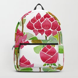 Be still like the Lotus Backpack