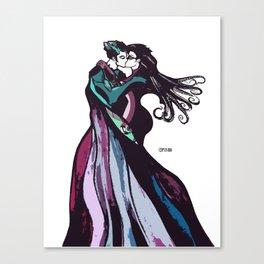 Strange Love Indeed. Canvas Print