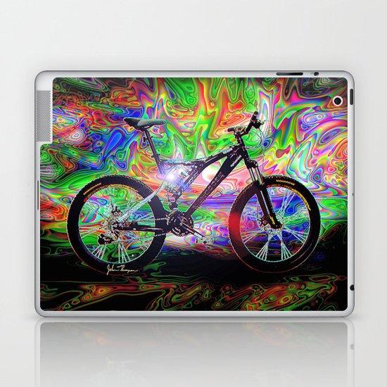 Psychedelic MT Bike Laptop & iPad Skin