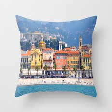 Nice From The Sea Throw Pillow