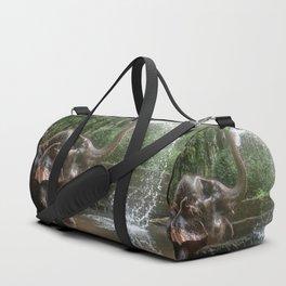 Elephant Bathing Duffle Bag