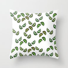 Lil Limes Throw Pillow