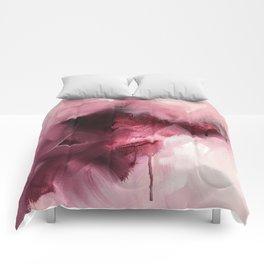 Maroon 1 (Color Study) Comforters