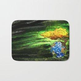 Yggdrasil: The World Tree Of Life Bath Mat