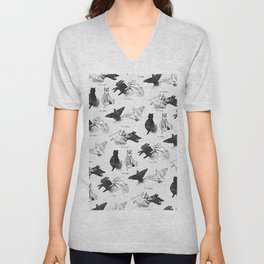 Shadow Puppets Unisex V-Neck