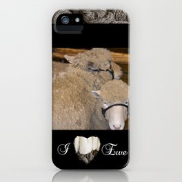 Wooly Love iPhone Case