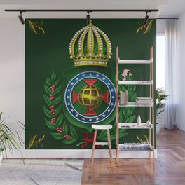 Dom Pedro II Coat of Arms Wall Mural
