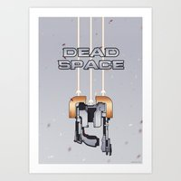 dead space Art Prints featuring Dead Space by Spiritius