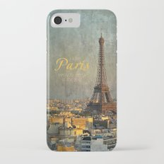 I love Paris iPhone 7 Slim Case