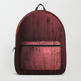 Old red window at night Backpack