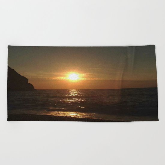 Italian Sunset 2 Beach Towel